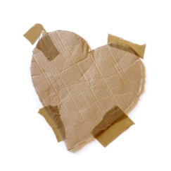 Taped Heart