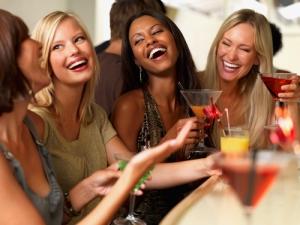 group of women laughing original